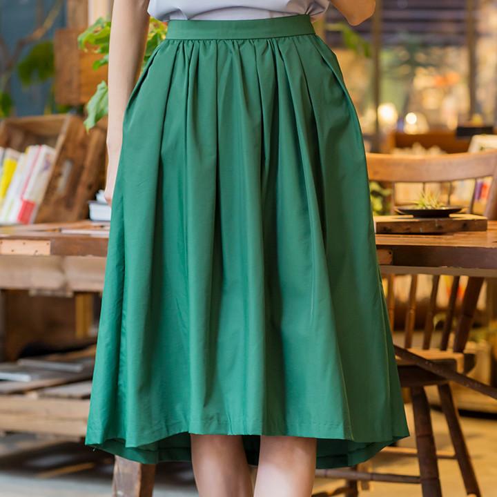グリーンヘムスカート