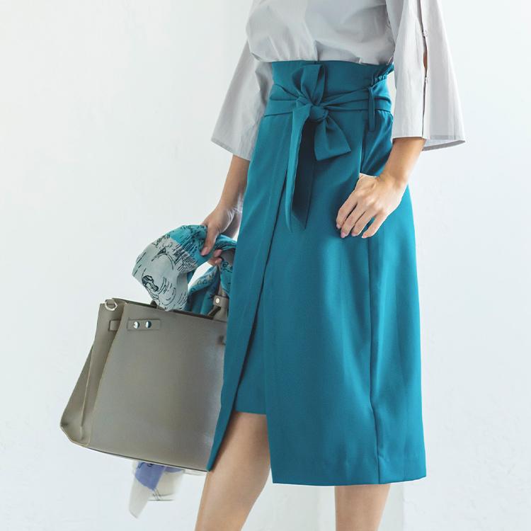 フォレストグリーンスカート
