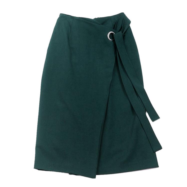 グリーンラップ風スカート