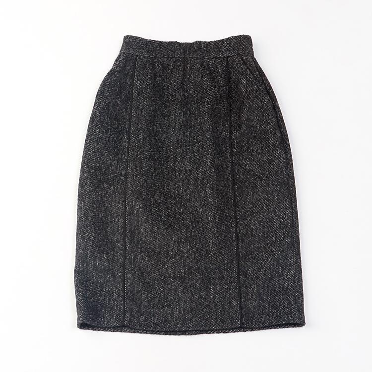 厚地ツイードスカート