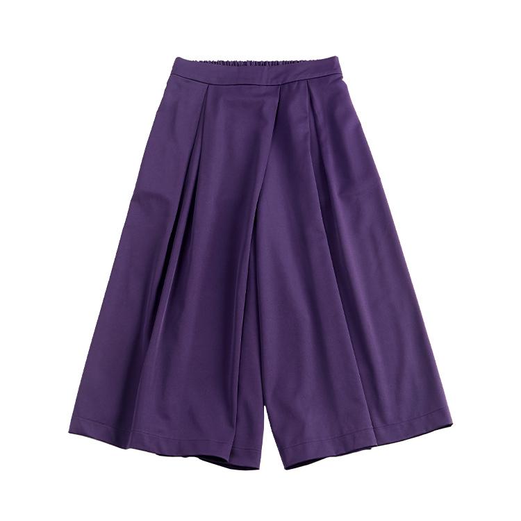 スカート見えワイドパンツ
