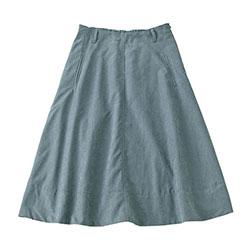エコスエードフレアースカート ※モデル着用Mサイズ