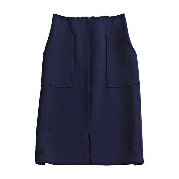 フロントスリットタイトスカート ※モデル着用Mサイズ